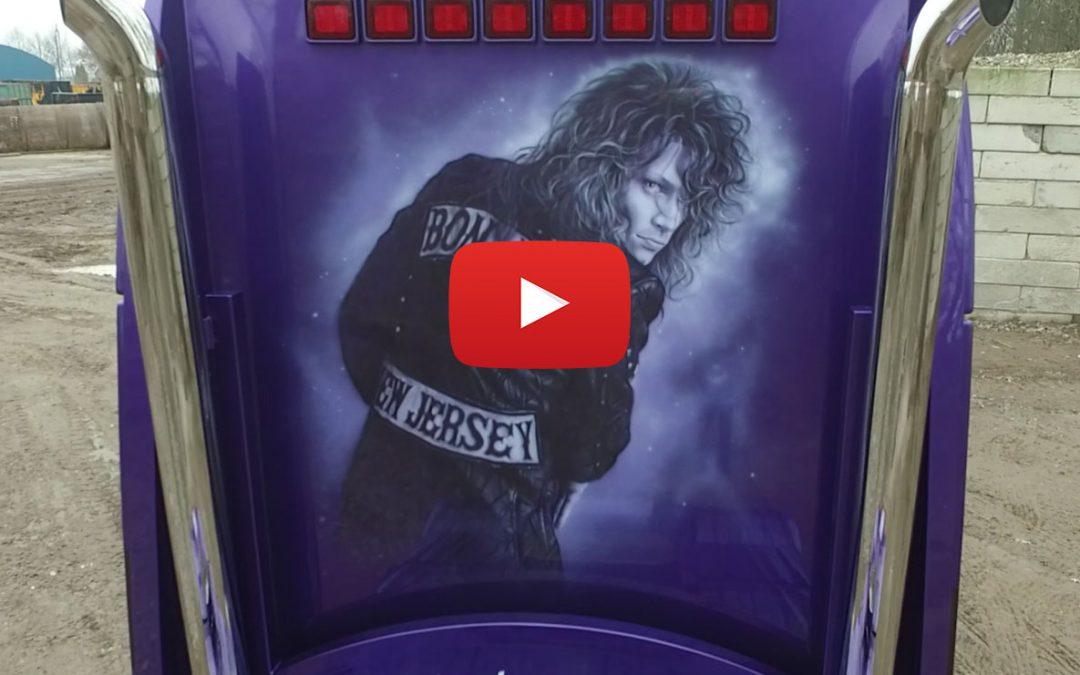 Bon Jovi truck timelapse